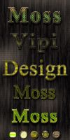 Moss Styles for photoshop by elixa-geg