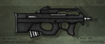 Fictional Firearm: HC-AR107C Compact Assault Rifle by CzechBiohazard