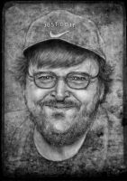 Michael  Moore by YannGOBART
