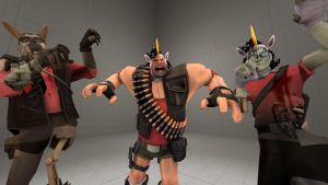 Playing with SFM - Scream Fortress Loadouts #1 by scooterulez