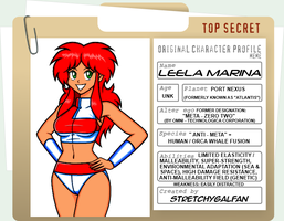 Leela Marina Character Profile by StretchyGalFan