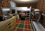 House 4A Bedroom 01 by crispexmobile
