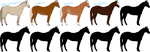 OPEN Basic Mystery Horses by Isolated-Design