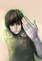 Rock Lee by Zapekanka