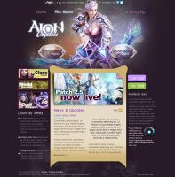 Aion Crystals Web Site by Forza27