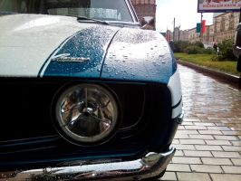 Camaro in Moscow by overmoder