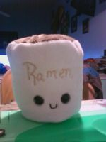 Ramen Plushie--WIP by Love-Who