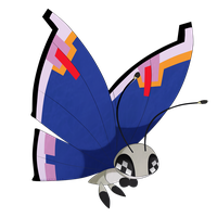 Vivillon by LunaticLily13