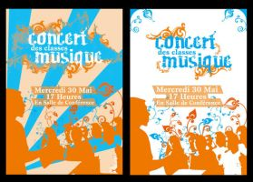 Affiche concert by faratiana