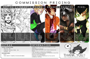 Commission Pricing by 13r-e