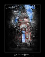 Welcome to Bali by pueang