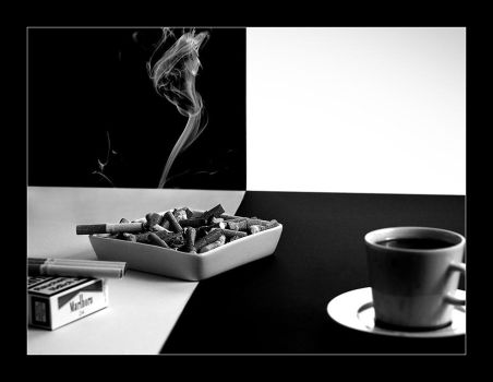Coffee and Cigarettes by debruehe