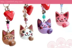 Kitty charms by yael360