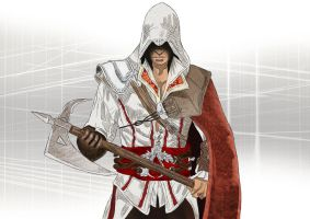 Ezio Auditore - Assassin's Creed II by smeemee