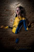 Kitty Pryde II - body paint by oldmacman