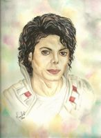 Michael Jackson - Captain Eo by mjdrawings