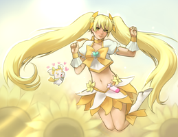 Cure Sunshine by magicalondine