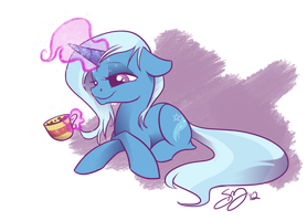 Sleepy Trixie by Famosity
