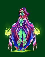 Nature Witch ADOPTABLE [Open] by ButteryTea