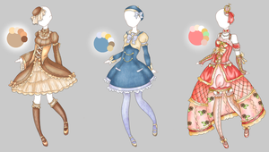 .:Outfit Adopts 3:. by Crystallyna