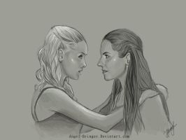 Lost girl. Bo/Tamsin.^^ by Angel-bringer