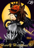 Sora: Happy Halloween! by BaiHu27