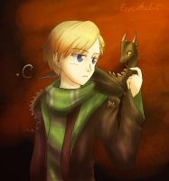 Norwegian Ridgeback (APH/HP) by Eeveetachi