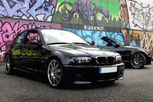BMW m3 coupe et cab. by psycko91