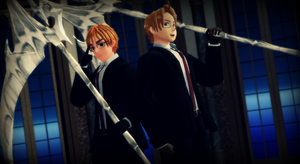 Hetalia MMD - We are the Shinigami by YuMoriChii