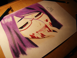 Tokyo Ghoul - Rize by hachikuichi