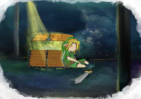 Sleepy-link by aki-T