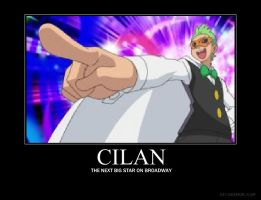 Cilan motivational poster by InvaderLUR