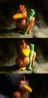 Mini Farfetch'd figure by Iron-Zing