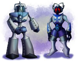 Comm - Cybermen Nobody and Unversed by LynxGriffin