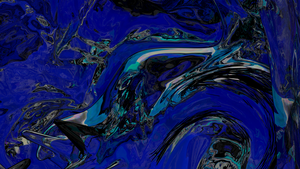 Abstract Black, Blue and Pink by SemjonB