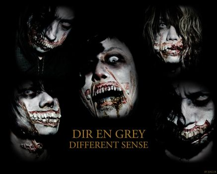 DIR EN GREY - DIFFERENT SENSE by Jogur