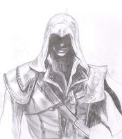 Ezio Assassin's Creed 2 by Ab-derian