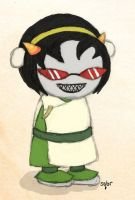 Homestuck: Terezi as Toph by sqbr