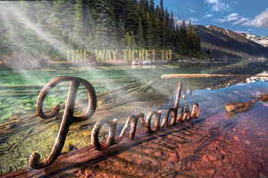 Paradise 3D Typography by ffdiaries958