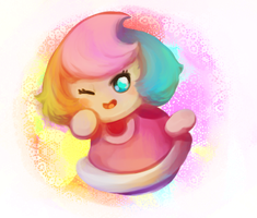 Mini paintbrush by LoveBobu