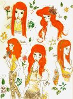 My Favorite Redheads by sunjewel