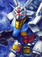 MOBILE SUIT GUNDAM RX 78-2 by Impelsa