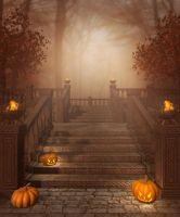 Halloween Background 1 by moonchild-ljilja