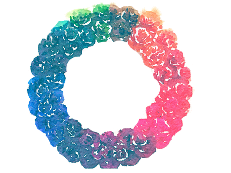 FREE-rainbow-wreath-png-watercolor by anjelakbm