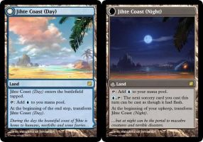 Jihte Coast (Day and Night) by mathepan