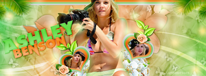 +Ashley Benson Tropical by LupishaGreyDesigns