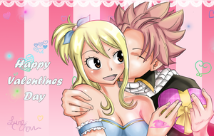 Happy Valentins Day NatsuxLucy by Lyne-Chan