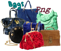 Bags png set1 by JEricaM