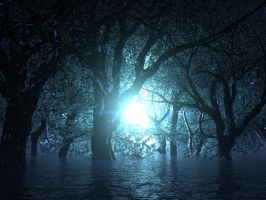 Cerulean Swamps by asht535