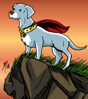 Krypto - Comics - 2 by UltimeciaFFB